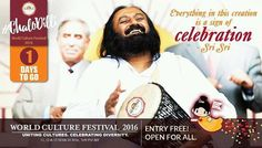 Excitement is rising and with #1DayToGo Delhi is getting ready to host the biggest cultural festival ever in the world. We the Art of Living invite everyone to be a part of this unparalleled unmatched and phenomenal gathering of faiths nations and people championing values of peace happiness love and unity. Let's come together to make heaven on earth!  #ChaloDilli #WorldCultureFestival #WCF2016 #NewDelhi #india #culture #festival #peace #Happiness #unity #love #heaven #biggest…