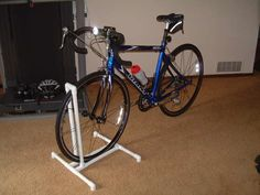 Make a long one of these for all of the kid's bicycles.