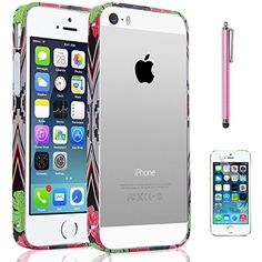 iPhone 5S Case, ULAK Case for Apple iPhone 5 5S 5G Luxury Fashion Metallic Frame Case Cover for iphone 5 5s with Screen Protector and Stylus (wave) ULAK http://www.amazon.com/dp/B00S7ZIBLA/ref=cm_sw_r_pi_dp_jlc9ub1V1AK8Q