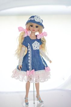 """SOLD """"Walk in the Park"""" Dress,Outfit,Clothes,Fashion for Tonner Ellowyne Wilde #ClothingAccessories"""
