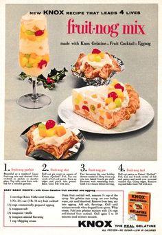 1957 Advertisement for Knox Gelatin