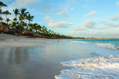 Beach at Royalton Punta Cana, a modern, all-inclusive luxury resort on the coveted sands of Punta Cana in the Dominican Republic.