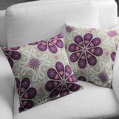 Flower Chartres 3 - marron - Premier appartement - tissus - Tissus de décoration - Points - Tissus de décoration - Fleurs - tissus.net