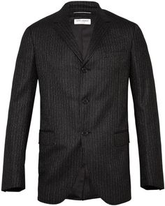 Love this: Short Boxy Fit 3 Button Flannel Jacket @Lyst