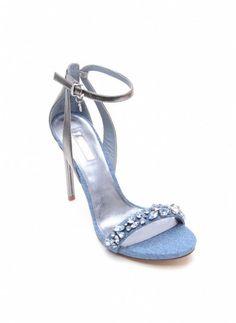 Sandalo gioiello con cinturino alla caviglia Guess