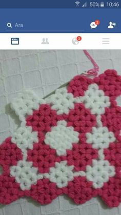 This Pin was discovered by Nlg Puff Stitch Crochet, Free Crochet, Crochet Stitches Patterns, Stitch Patterns, Knit Rug, Coffee Cozy, Doilies, Crochet Projects, Free Pattern