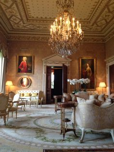 The Gold Room, Ballyfin, Co Laois. The most stunning restoration.