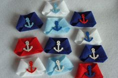 10 Nautical DIRTY DIAPER BABY SHOWER GAME With Anchor Buttons multcolored diaper…