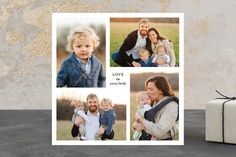 Love, Us holiday photo card by Up Up Creative for Minted