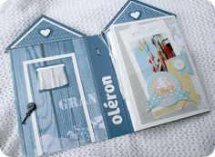 Oléron, un mini-album de Françoise