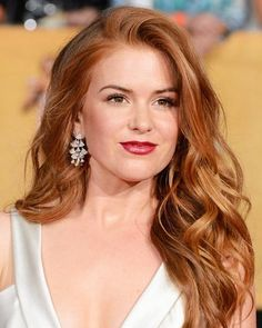 Hollywood Red Heads: Nautral or Dyed Hair  #InStyle