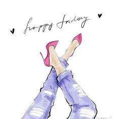 ¡Al fin viernes! Aunque todo este mal siempre lleva tus tacones y hazlos sonar. #pinklia #felizviernes #fashionblogger #styleblogger #makeupblogger #fashion #moda #zapatos #heels #instafashion #instapic #picoftheday #beauty #belleza #mujeres #consultoriad