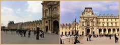 Entrada Richelieu do Louvre.