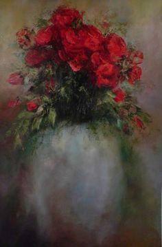 wilma du toit paintings - Google zoeken Flower Paintings, Painting Flowers, Watercolor Pictures, Photo Illustration, Art Work, Bouquets, Succulents, Creative, Floral
