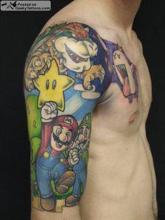 Mario Allstars Tat