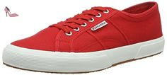 Superga , Espadrilles pour homme Rouge Red-White, Rot (Red-White), 26 EU - Chaussures superga (*Partner-Link)