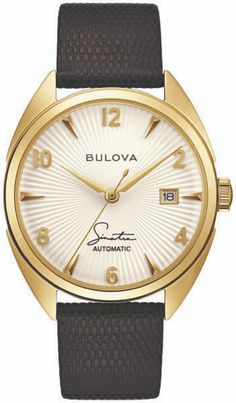 Bulova Unveils Frank Sinatra Collection: Four New Designs On 10 New Watches | WatchTime - USA's No.1 Watch Magazine Seiko Presage, Moon Watch, Bulova Watches, Omega Constellation, Elegant Watches, Black Accents, Automatic Watch, New Music, Watches For Men