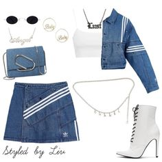 Discovered by vodkabitchess. Find images and videos on We Heart It - the app to get lost in what you love. Kpop Fashion Outfits, Stage Outfits, Edgy Outfits, Korean Outfits, Mode Outfits, Cute Casual Outfits, Retro Outfits, Polyvore Outfits Casual, Dance Outfits