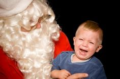Christmas Parent Humor: Sitting on Santa's Lap is a Seriously Strange Tradition   ModernMom.com