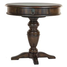 Reual James Windsor End Table Overall: 26'' H x 26'' W x 26'' D