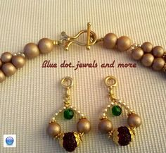Handmade finishings by Blue dot..jewels and more