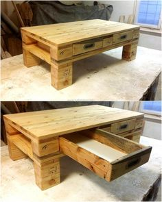 pallet-table-with-storage-drawer
