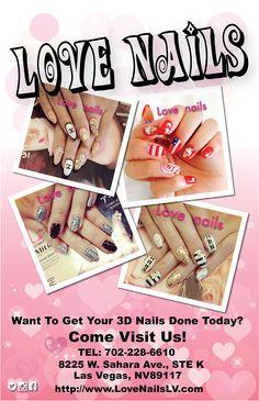 Starz Nails has changed its name to Love Nails!  #LoveNails #Nails #3DNail #NailArt #NailDesign #NailPorn #Fashion #Nailstyle