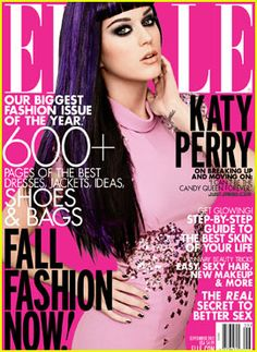 Katy Perry covers Elle Magazine's September Issue