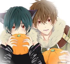 Ikuya and Natsuya Kirishima Cute Anime Boy, Anime Love, Anime Guys, Manga Anime, Anime Style, Free Es, Anime Siblings, Splash Free, Free Eternal Summer