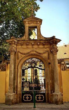 | ♕ | Baroque Serbian Church - inner city Budapest | by © elinor04