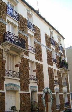 Immeuble  5, rue Lemancel. Nogent sur Marne 94130.  Architecte : G.Nachbaur et fils.