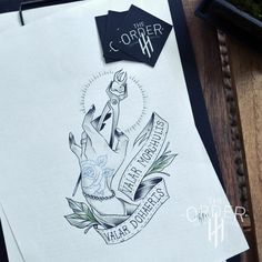 Hand And Tooth Drawing – The Order Custom Tattoos