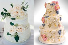 - Fabulous Wedding Cakes with Flowers - EverAfterGuide