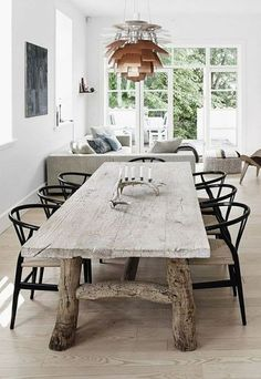 Great table idea. The legs would look even better with some 8x8 or 10x10 hand hewn timbers.
