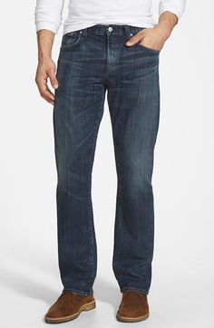 Citizens of Humanity 'Perfect' Relaxed Straight Leg Jeans (Rockford) available at #Nordstrom
