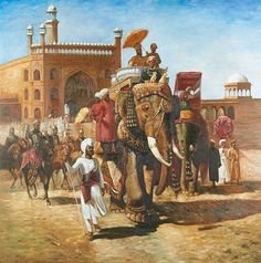 View past auction results for Edwin LordWeeks on artnet Mughal Paintings, Indian Art Paintings, Om Namah Shivaya, Animal Posters, Elephant Art, Historical Art, North Africa, American Artists, Art And Architecture