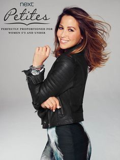 Rachel Stevens will become the first celebrity face of the Next 'Petites' range