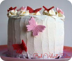 Red velvet cake, crème au mascarpone (Hummingbird Bakery)