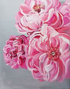 Make A Person, Peonies, Oil On Canvas, Craft Supplies, Marriage, Rose, Interior, Flowers, Plants