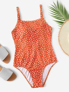 Shop Dot Print Low Back One Piece Swimsuit online.- Shop Dot Print Low Back One Piece Swimsuit online. SheIn offers Dot Print Low Back One Piece Swimsuit & more to fit your fashionable needs. One Piece Swimsuit With Shorts, One Piece Swimsuit Flattering, One Piece Swimsuit Slimming, Cute One Piece Swimsuits, Bathing Suit Shorts, One Piece Swimwear, Target One Piece Swimsuit, Red Swimsuit, Swim Shorts