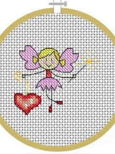 February Fairy Cross Stitch Crazy Issue 173 February 2013 Saved