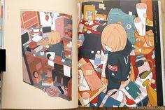 Kikanetsu - Daisuke Richard Art Book Review Illustration Artists, Illustrations, Manga, Book Review, Book Art, Anime, Posters, Japanese, Film