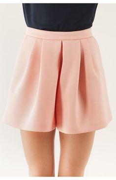 mini gonna pantalone con cannoncini