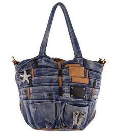 30 variantes de sacos feitos de jeans velho   PicturesCrafts.com