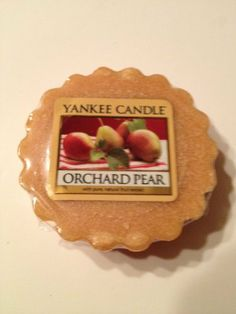 Orchard Pear Yankee Candle® Tart (12 Cnt.) by Yankee. $24.95. Approx. 8 hours of fragrance. 12 Yankee Tarts Wax Potpourri Pieces Net. Wt. 0.8oz (22g) each, Total Net. Wt. 19.2 oz. (528g)