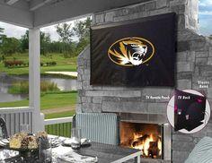 Missouri Tigers TV Cover - SportsFansPlus