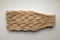 Ravelry: Double Shell Headband pattern by Regina S. Graham