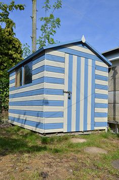 Garden Sheds That Look Like Houses brightly painted garden shed looks striking and beautiful. more