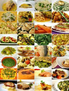 32 ideias para acompanhamentos Menu, Portuguese Recipes, Yams, Palak Paneer, Ketogenic Diet, Cooking Tips, Keto Recipes, Side Dishes, Easy Meals