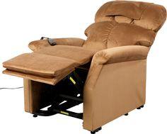 Fauteuil releveur CONFORT PLUS moelleux et souple : Suspension d'assise ressorts ensachés, mousse haute résilence haute densité, dossier généreux en fibre en forme de T pour un meilleur maintien + Emplacement pour la tête. Relaxation 1 ou 2 moteurs pour un nombre infini de positions inclinées + Fonction MAXI CONFORT pour basculer directement dans une position optimale (TV ... Lit, Zéro Gravité). Un fauteuil des plus confortables avec aide à l'assise pour les personnes âgées